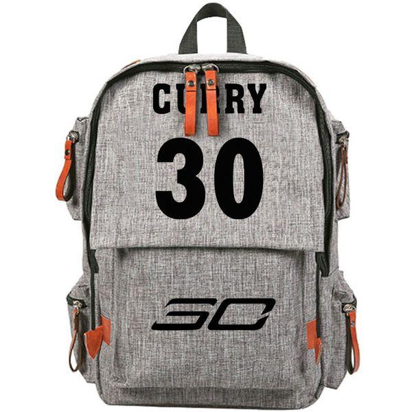 MVP backpack Stephen Curry day pack Star lovely color school bag Canvas packsack rucksack Sport schoolbag Outdoor daypack