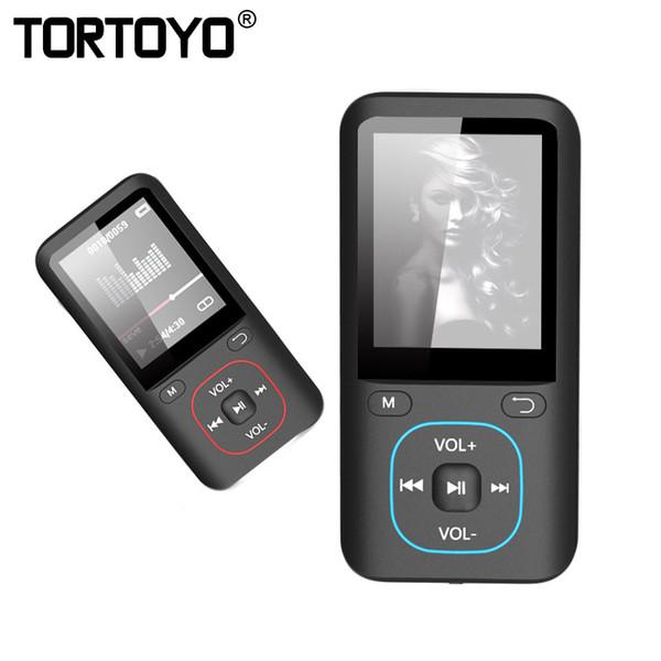 TORTOYO Professional HD Noise Reduction Digital Voice Recorder Music MP3 Video Player FM Radio Audio Recording Dictaphone
