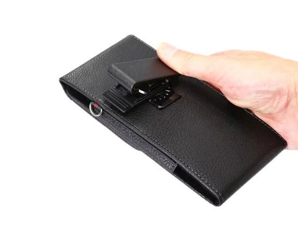 Funda para tarjeta de caja de teléfono móvil de cuero para hombre con correa de clip de cinturón giratorio vertical para Huawei Ascend Mate7, Nexus 6P, Mate 8 Mate8, Honor V8