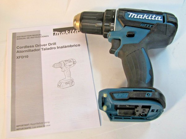 2019 NEW Makita Cordless LXT Driver Drill Model XFD10 18 Volt 18V With  Owners Manual From Milhud69, $29 15 | DHgate Com