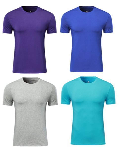 best selling Mens Summer gyms Workout Fitness T-shirt High Quality Bodybuilding Tshirts O-neck Short sleeves cotton Tee Tops clothing for Male