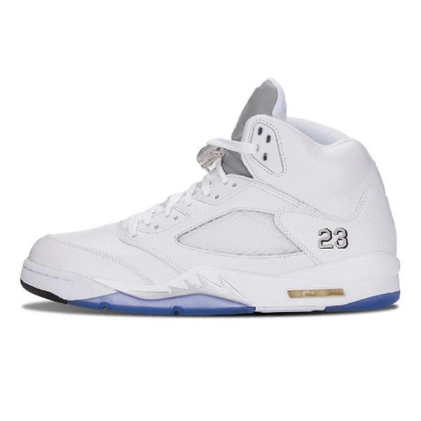 #17 Metallic White