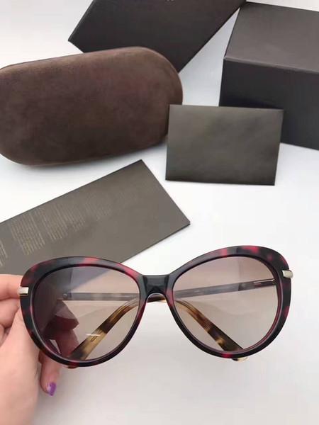 Роскошь-Горячие Солнцезащитные Очки Женщины Марка Дизайнер Мужчины Солнцезащитные Очки TF293 Новые óculos Ретро Мода Gafas De Sol Марка Солнцезащитные Очки