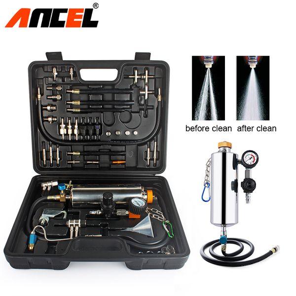 Ancel GX100 Car Fuel Injector pulizia della macchina non smantella l'EFI Throttle Tester Servizio meccaniche Vetture Strumenti per auto