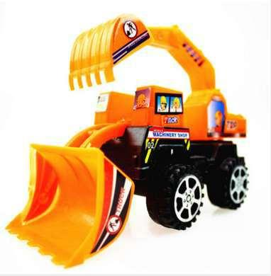 Engineering Vehicle Tractor Toy Truck Car Model Bulldozer Snow Clearer Forklift Road Roller Car Set Gift Boy Kids