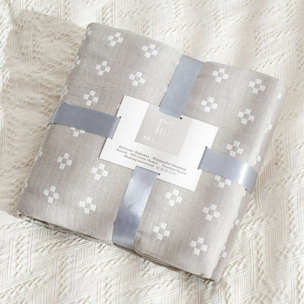 Cotton Gauze Breathable Home Blanket Bed Airplane Sofa Quilt Bedspread Bed Cover Travel Comforter