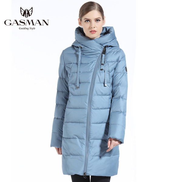 cad3a7086 2018 2019 NEW GASMAN Women Winter Jacket Long Winter Thick Coat For Women  Hooded Down Parka Warm Female Clothes Winter Plus Size 5XL 6XL Coats From  ...
