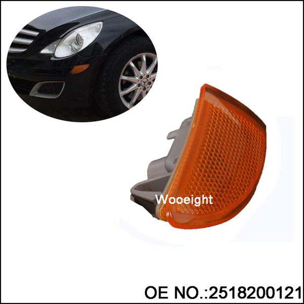 wholesale 1Pc Front Bumper Left Turn Signal Indicator Light Lamp 2518200121 For Mercedes-Benz W251 R320 R350 R500 2007-2009