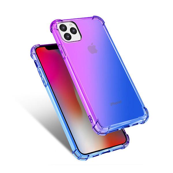 A (violet / bleu)