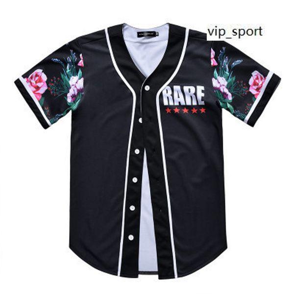 En ligne Nouveau Style Homme Baseball Maillots Sport Chemises Mode 3D Avec Bouton De Bonne Qualité 38 Pas Cher