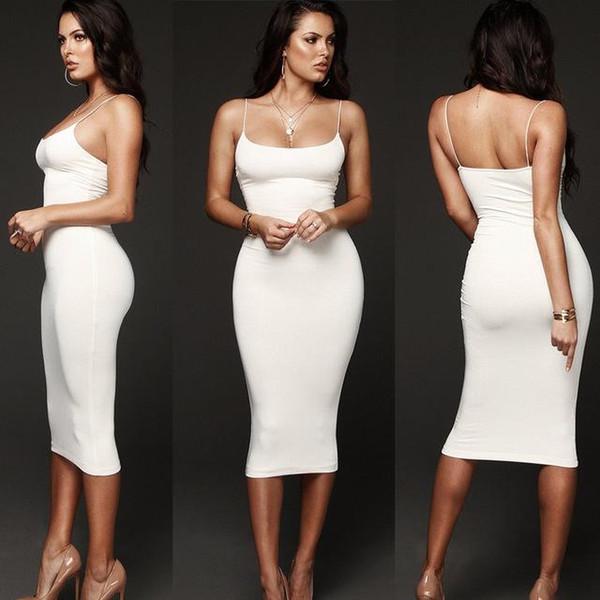 Новое горячее надувательство женская мода Bodycon тонкий короткий миди платье ну вечеринку клубная одежда карандаш