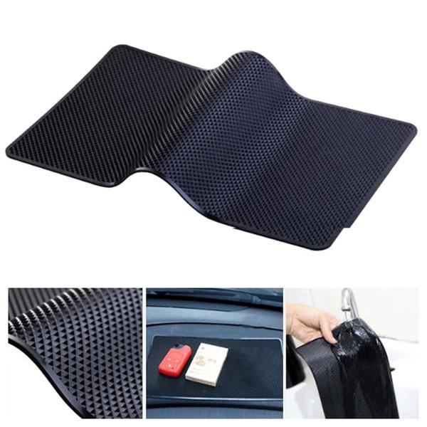 27x15cm Car Dashboard Sticky Pad Anti-Slip Cell Phone Mat Holder For Key Sunglasses Cigarette Coins Non-slip Pad Decorative