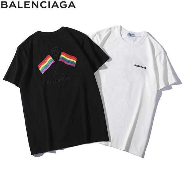 Mens Designer T Shirts Print BB Double B Luxury Designer Shirt Men's Brand Shirts Short Sleeve Luxury Men's T-shirt