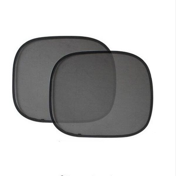 New arrival 2Pcs/Lot 44*36cm Black Car Sun Shade Side Rear Window Sunshade Cover Visor Shield Screen Solar Protection