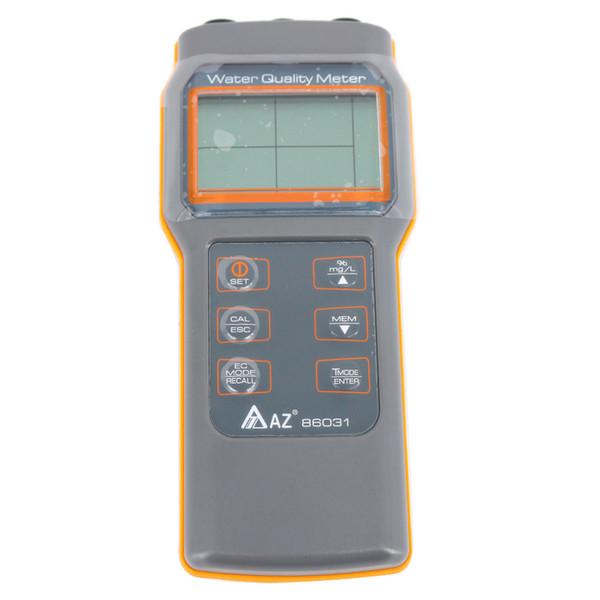 AZ86031 PH Metre Taşınabilir Çözünmüş Oksijen Test Cihazı IP67 Su Geçirmez Tasarım