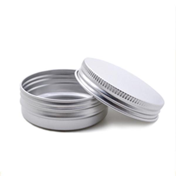 5ml 30ml 60ml g Svuotare alluminio Contenitori Vasi 60g cosmetici DAB strumento di archiviazione delle Cere di metallo contenitore di latta lattine casse di bottiglie Balm