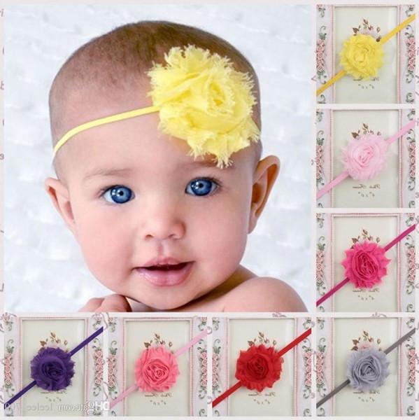 Children Hair Accessories Kids Flower Hair Bands Headband Baby Hair Accessories Girls Headbands Childrens Accessories 15 Colors Free Ship