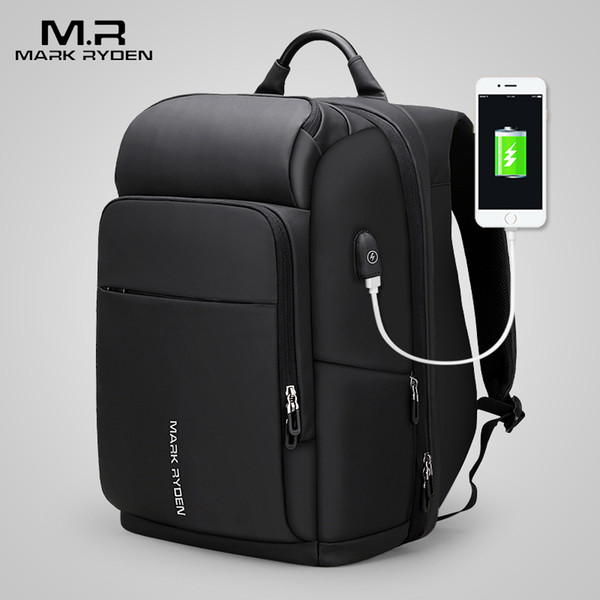 Mark Ryden 15 Inch Laptop Backpack For Man Waterproof Functional Bag With Usb Port Travel Male Backpack Y19061102