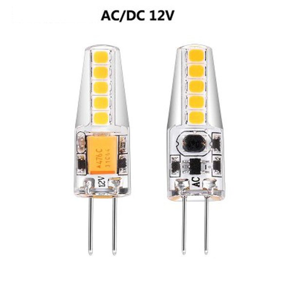 AC / DC12V-24V 3W LED lampadina spia lampadina dc 12v microscopio lampada principale G4 SMD2835 lampadina principale