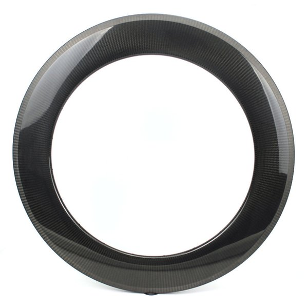 700C 88mm Depth Carbon Fiber Rims Clinche / Tubular/ Tubeless For Road Bike And Triathlon With 1k 3k 12k UD