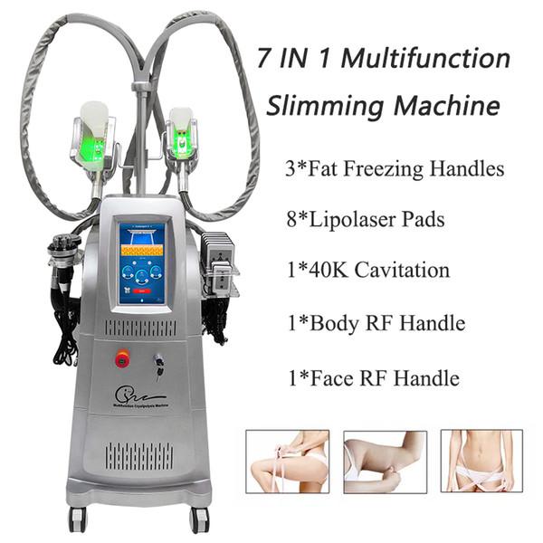 Yüksek kaliteli ev kullanımı için taşınabilir yağ donma zayıflama makinesi kilo kaybı ultrasonik kavitasyon güzellik ekipmanları cryolipolysis