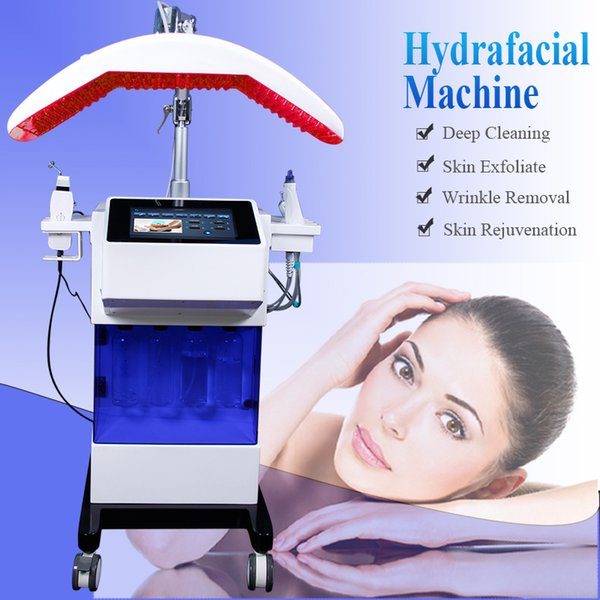 Microdermabrasion machines for sale skin cleaning microcurrent face lift machine hydro facial water aqua jet peeling oxygen spa equipment