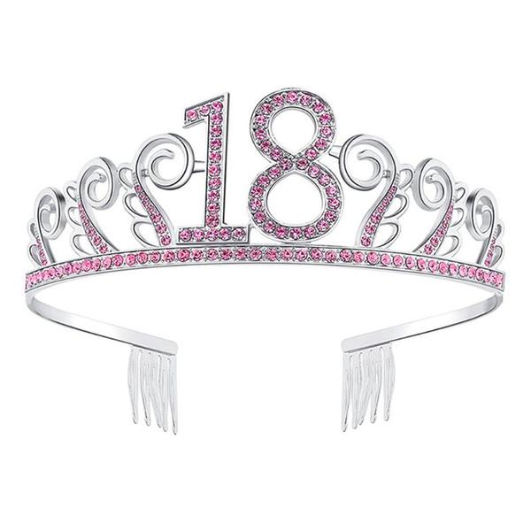 Braut Krone Beliebte Strass Hochwertige Krone Kopfschmuck Hochzeit Zubehör Tiara 18. Geburtstag Mitbringsel