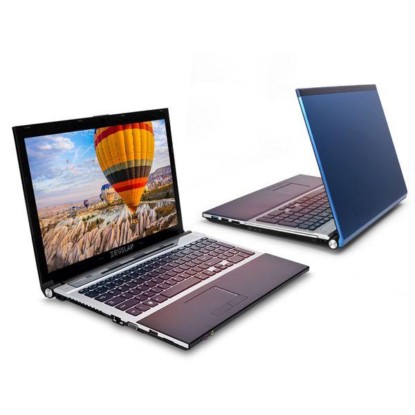 15.6 inç intel i7 4 GB RAM 512 GB SSD 1 TB HDD 1920x1080 P WIFI bluetooth DVD Rom çift çekirdekli Windows 10 Dizüstü PC Bilgisayar Dizüstü