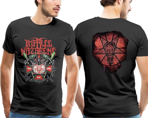 Aufgespießtes Nazaräer 1990 2012 offizielles Hemd S M L Xl schwarzes Metallt-shirt Neu