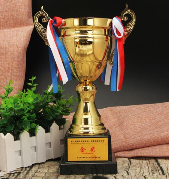 games trophy crafts Metal cup customized football basketball cup high-grade metal alloy customized creative gifts World Cup