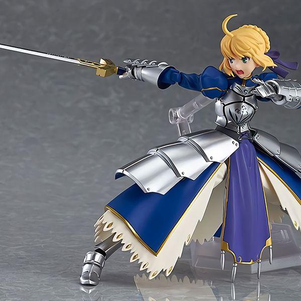 Tronzo Figma #227 Anime Fate Grand Order FGO Saber Arturia Pendragon Arutoria Movable PVC Action Figure Model Doll Toys Gifts T190925