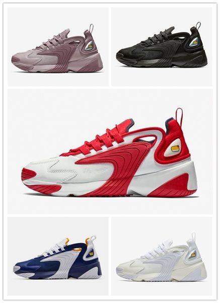 Purple Creamy White Triple Black M2k Tekno Zoom 2K Running Shoes for Men women Royal Blue sport Sneakers outdoor Trainer 36-45 UP159