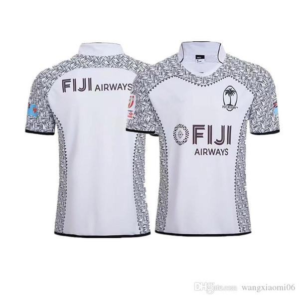 2018 FIJI RUGBY CASA JERSEY tamanho S-3XL FIJI Rugby Liga jersey Top quality frete grátis