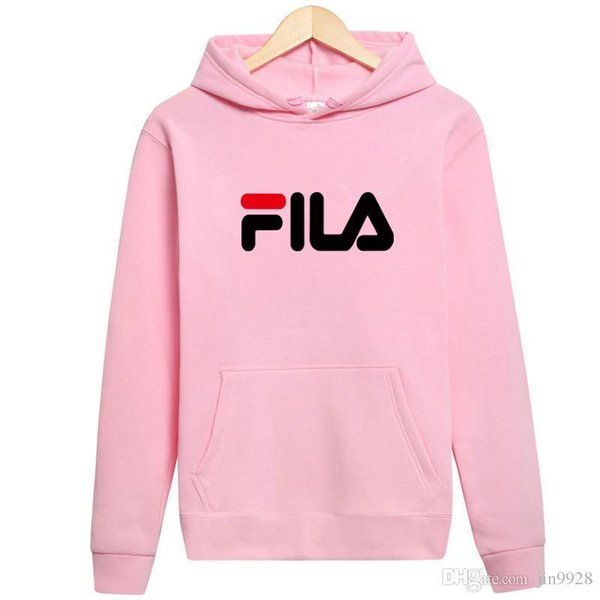 0c5ac99028 2019 2018 Mens Women FILA Polo Hoodies And Sweatshirts Autumn Winter Casual  With A Hood Sport Jacket Tracksuit Men'S Hoodies Sweater From ...