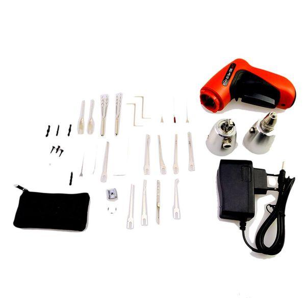 High Quality HOT KLOM Cordless Electric Lock Pick Gun Auto Pick Guns Lockpicking Locksmith Tools