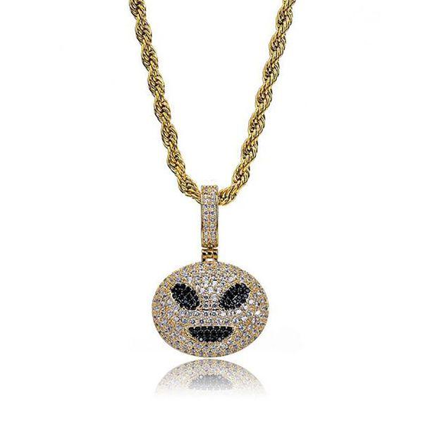 alien emoji+rope chain