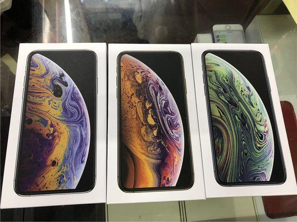 OEM qualità US / EU Version Phone Contenitore di imballaggio vuoto pacchetto Box per iPhone XS MAX XR XS X 8 8plus senza accessori