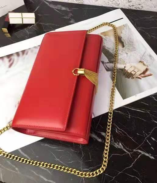 Fashion Lady Original Cowhide Leather Gold chain Golden lock pendant Genuine Leather high quality Luxury Designer Handbags Shoulder Bags