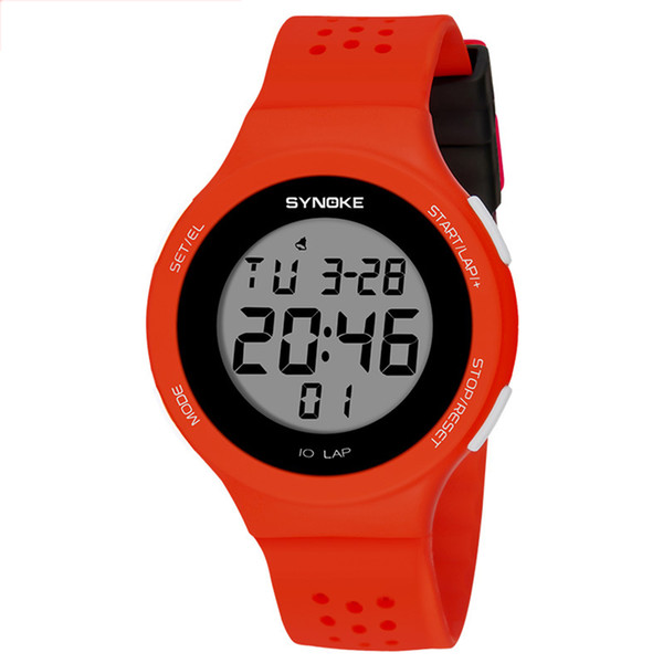 Men Women Wristwatch Luminous Sports Watches LED Digital 50M Waterproof Fabala Electronics Watch Wristwatches Outdoor