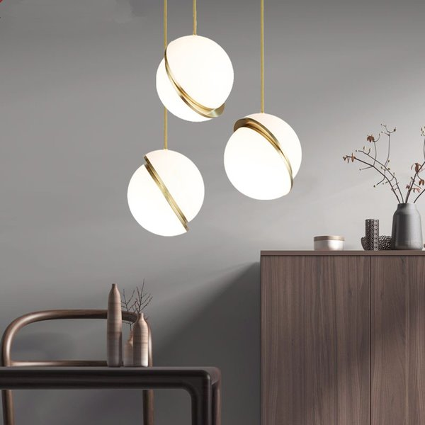 Nordic Modern Led Pendant Lights For Kitchen Dining Room Pendant Lamp For  Coffee House Bedroom Suspension Hanging Ceiling Lamp Pendant Lamps Kitchen  ...