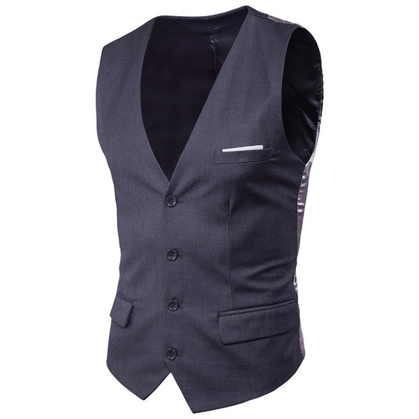 Deep Grey Vests
