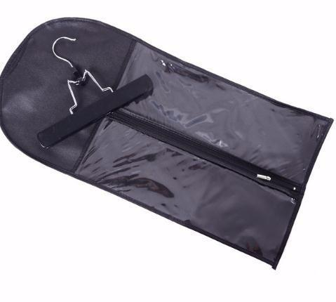 Extensions Carrier Storage Non-woven Suit Case Bag Package With Wooden For Weft & Clip In Hair Extensions