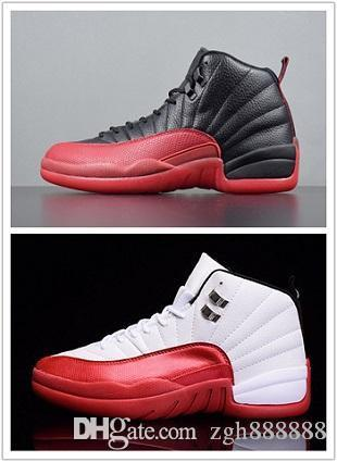 High Quality 12 12s Men Women Basketball Shoes ovo white TAXI Flu Game GS Michigan Playoffs gym red cherry blue NYC Winterized Sneakers