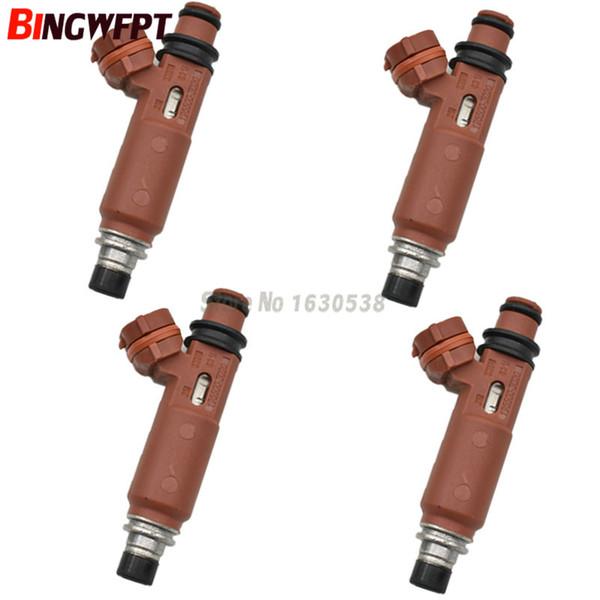4pcs/lot Fuel Injector nozzle For Mazda 323 Demio Mk8 1.3L 1998~2003 195500-3020 B31R-13-250 195500 3020