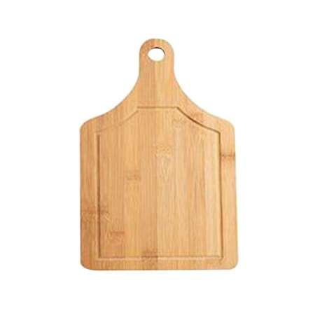 Square Shape Cheese Board Miniature Cutting Board Bamboo Double Sides Available Fruit Cake Tray Cooking Blocks (33x18cm)