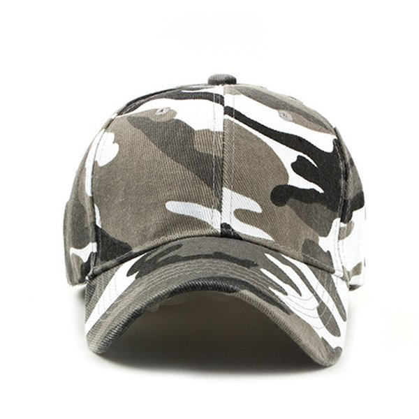 Camouflage Hat Men Women Cotton Camo Baseball Cap Outdoor Hats Snapback Dad Caps