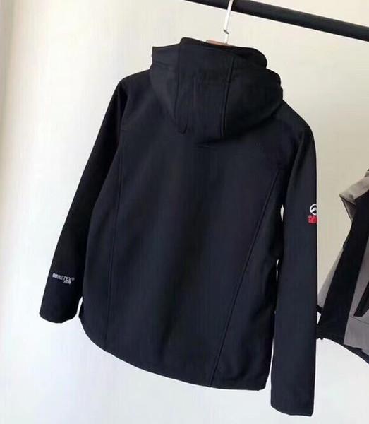 2018 Mens norte Denali Fleece Apex Bionic Casacos Ao Ar Livre À Prova de Vento Casuais Casacos À Prova de Vento Casuais À Prova D 'Água Quente