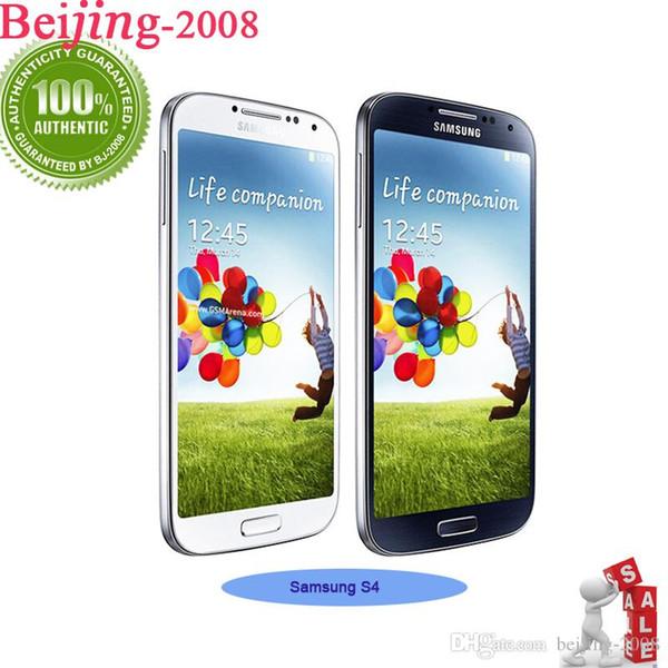Reformado original Samsung galaxy S4 Quad Core I9500 i9505 2G RAM 16G ROM 5.0
