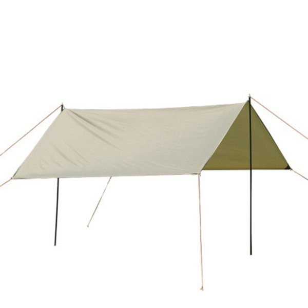 Outdoor sun protection waterproof tent Outdoor camping beach sunshade tent four corner canopy tent 3*3m green shelters LJJZ673
