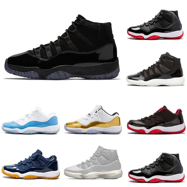 Discount 11 11s mens basketball shoes Cap and GownClosing Ceremony trainers women sneakers sports shoe size 5.5-1